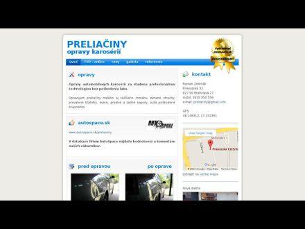 www.preliaciny.sk