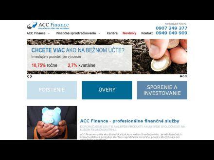 www.accfinance.sk