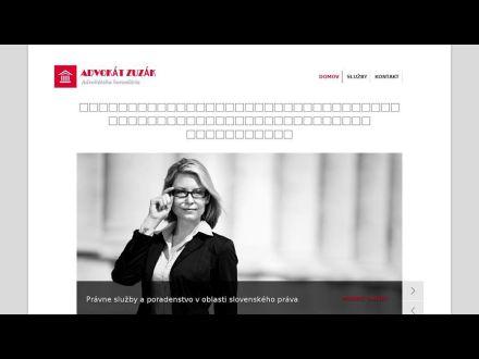 www.advokatzuzak.sk