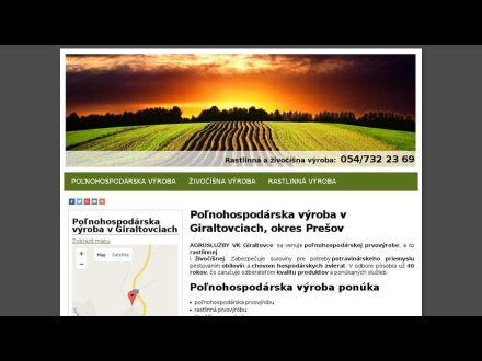 www.agrosluzbyvkgiraltovce.sk