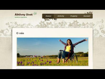 www.aktivny-zivot.sk