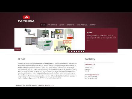 www.pardosa.sk