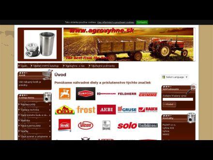 www.agrovyhne.sk
