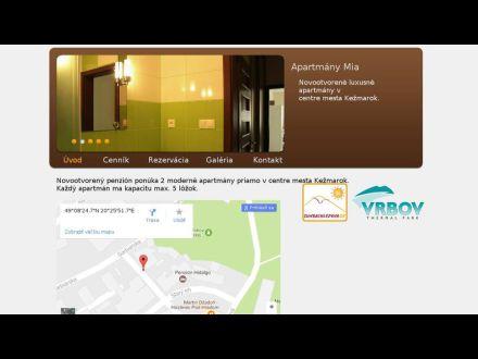 www.apartmanymia.sk