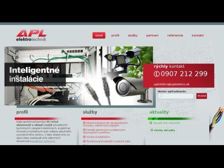 www.aplelektro.sk