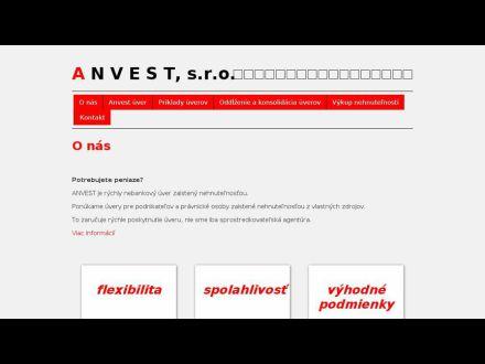 www.anvest.sk