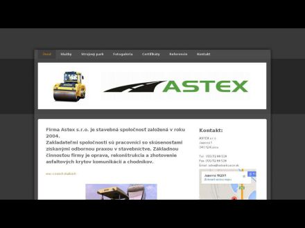 www.astex-kosice.sk