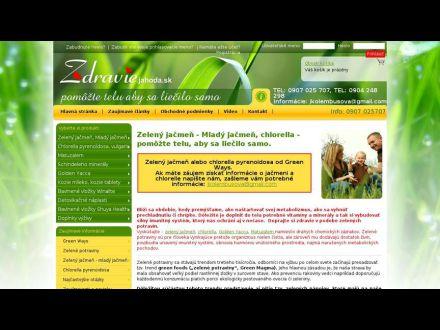 www.zdravie.jahoda.sk