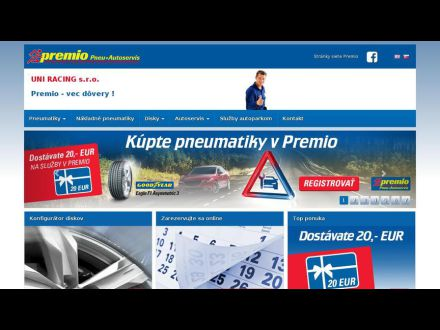 www.premio-pneuservis.sk/uniracing