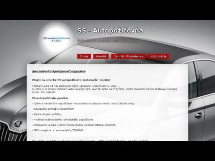 www.ss-autopozicovna.sk