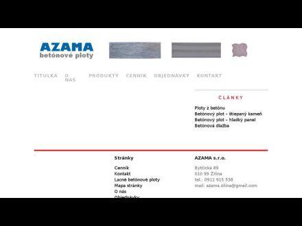 www.azama.sk