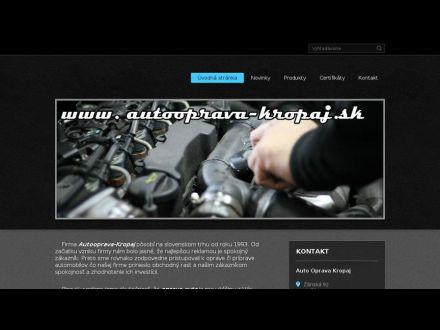 www.autooprava-kropaj.sk