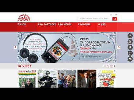 www.supraphon.cz