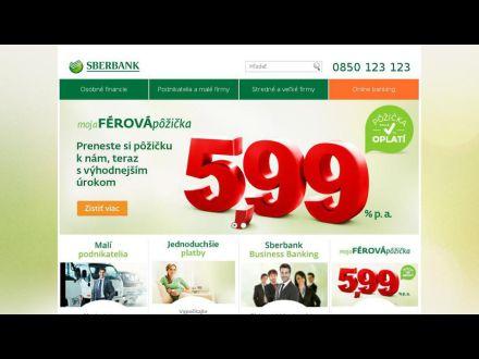 www.sberbank.sk