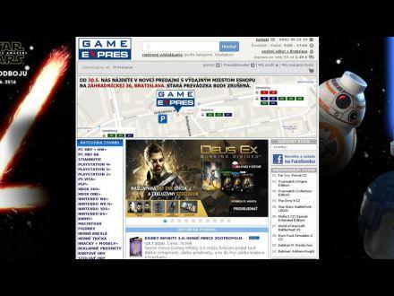 www.gameexpres.sk