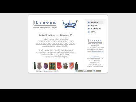 www.leaven.okweb.sk