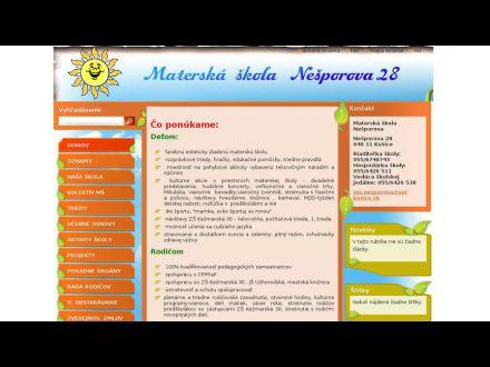 www.msnesporova.sk