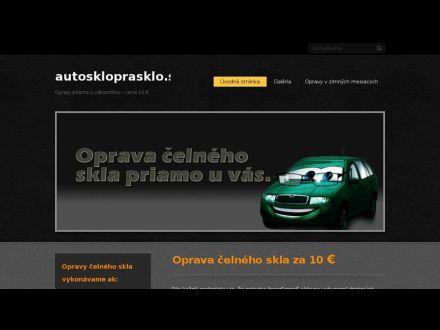www.autoskloprasklo.sk