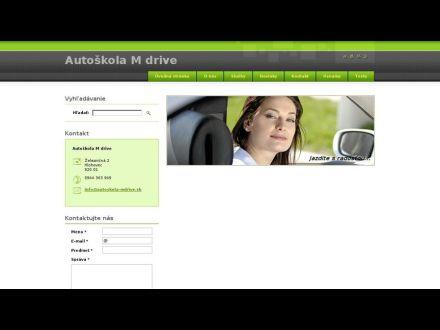 www.autoskola-mdrive.sk