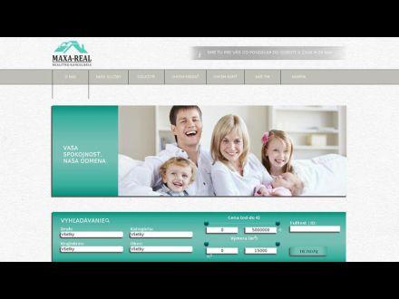 www.maxareal.sk