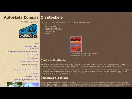 www.autoskolakompas.sk