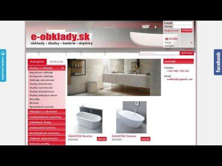 www.e-obklady.sk