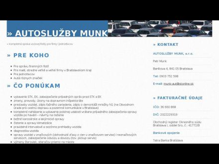www.autosluzbymunk.sk