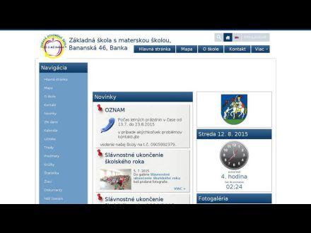 www.zssmsbanka.edupage.sk