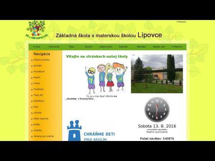 www.skolalipovce.edupage.org