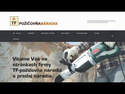 www.tf-pozicovnanaradia.sk