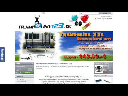 www.trampoliny123.sk