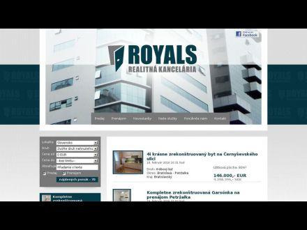 www.royals.sk