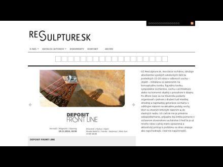 www.resculpture.sk