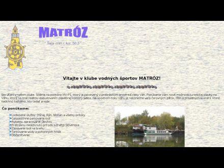 www.matroz.host.sk