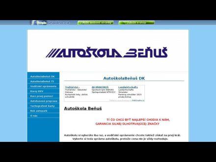 www.autoskolabenus.sk