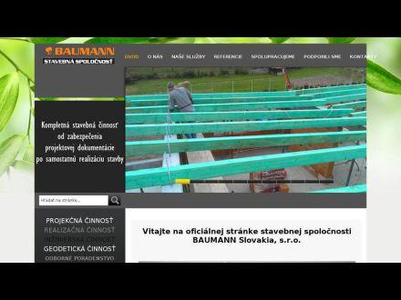 www.baumann.sk