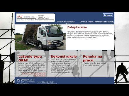 www.bau-experta.sk