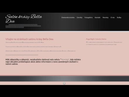 www.belladea.sk