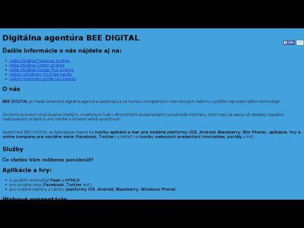 www.beedigital.sk