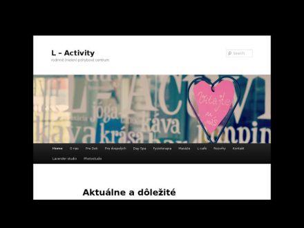 www.l-activity.sk