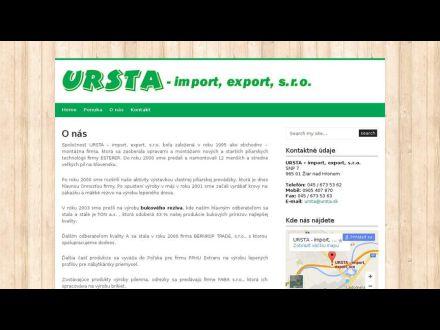 www.ursta.sk
