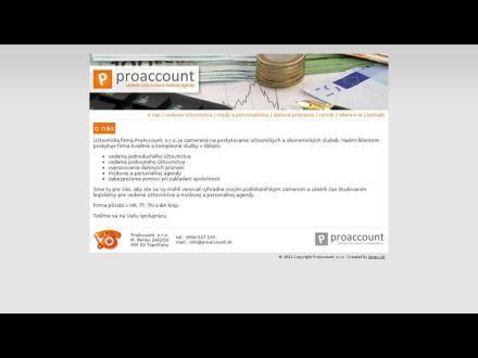 www.proaccount.sk