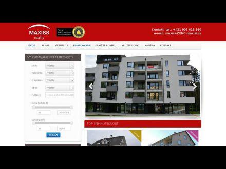 www.maxiss.sk