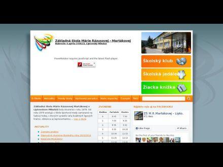 www.zsmrm.sk