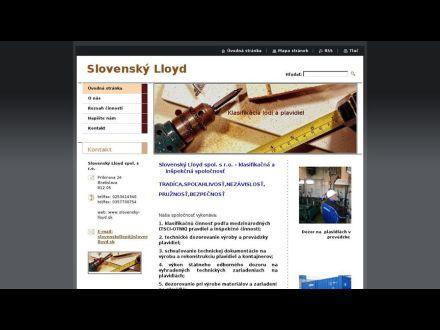 www.slovensky-lloyd.sk
