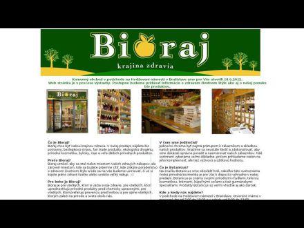 www.bioraj.sk