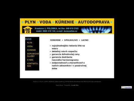 www.duce.sk