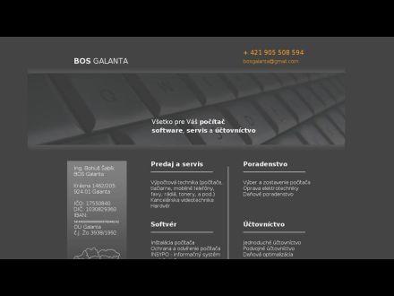 www.bosgalanta.sk