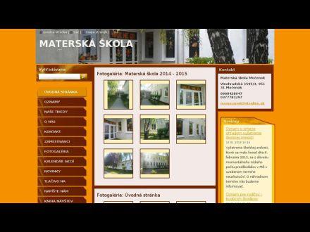 www.materskaskolamocenok.webnode.sk