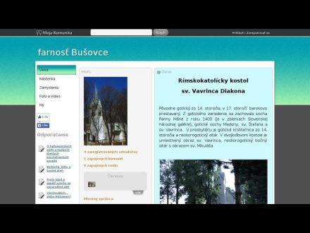 www.mojakomunita.sk/web/farnost-busovce